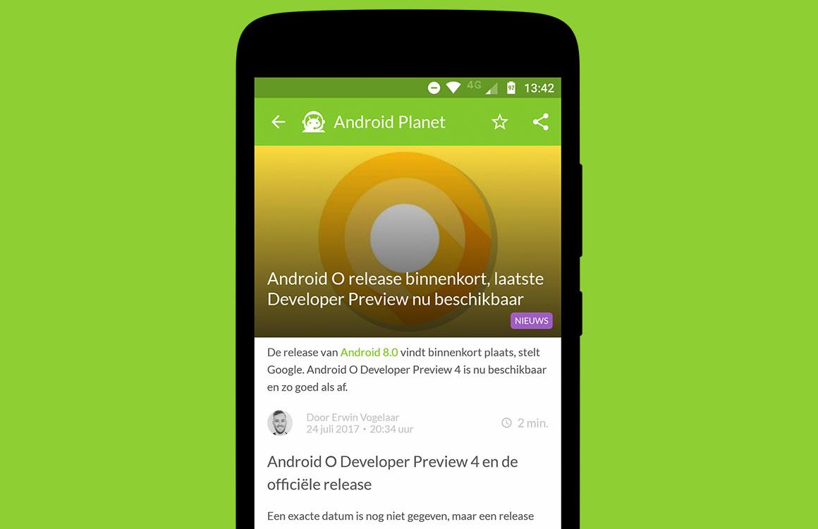 Android nieuws #30: Release Android O aanstaande en Nokia 8