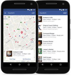 facebook wifi-netwerken
