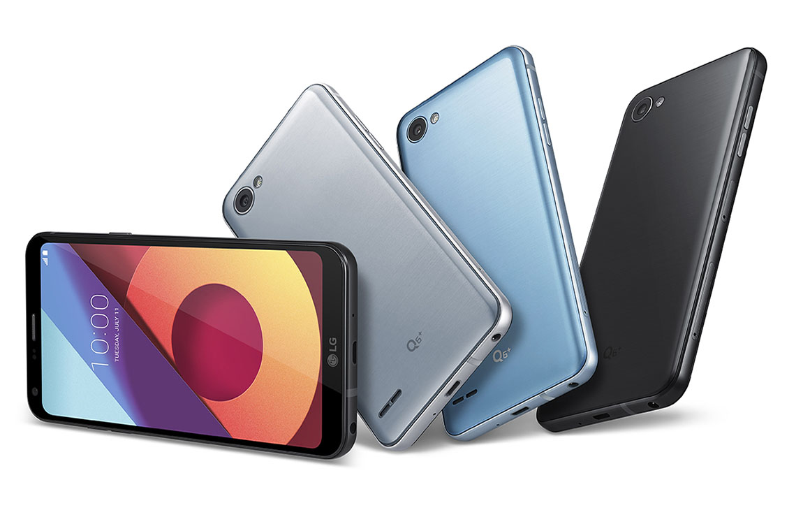 LG onthult Q6 met voorkantvullend scherm en lagere prijs