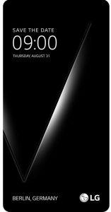 LG V30 aankondiging