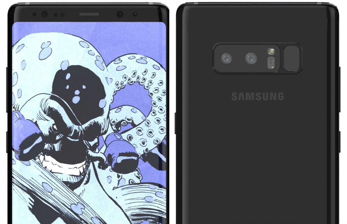 'Dit zijn alle acht kleurvariaties van de Galaxy Note 8'