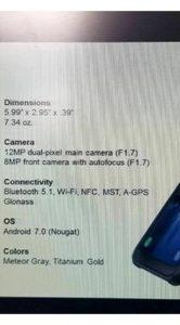 Samsung Galaxy S8 Active specificaties