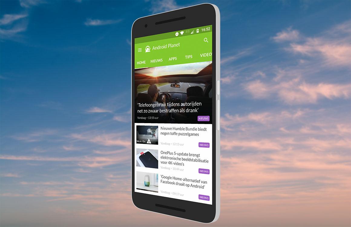Dit is nieuw in versie 1.3 van de Android Planet-app