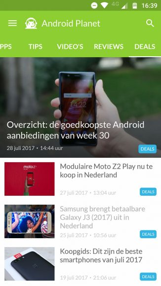 android planet-app-update