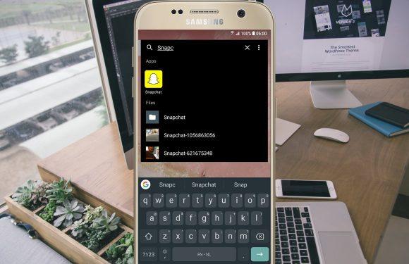 Vind snel alles terug op je Android met Fast Finder