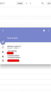 google agenda material design