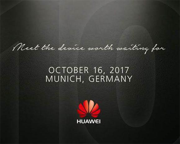 Huawei Mate 10 release
