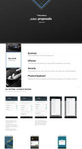 BlackBerry Juno details