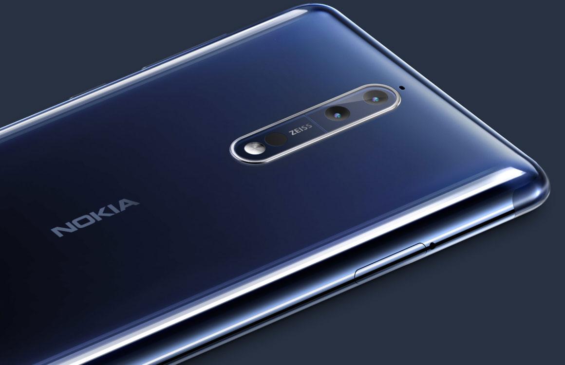 'Nokia 8 Android 8.0-update volgende maand al beschikbaar'