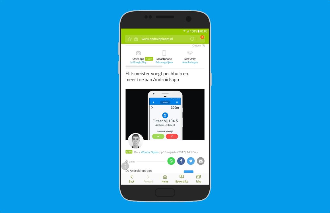 Deze 5 features zijn nieuw in Samsung Internet
