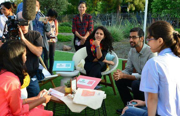 Sundar Pichai tegen jonge vrouwen: 'Er is een plek voor jullie bij Google'