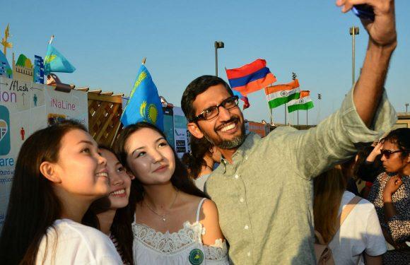 sundar pichai tegen meisjes