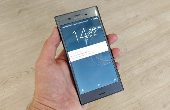 Sony brengt Xperia XZ1 met superslowmotion-camera uit in Nederland