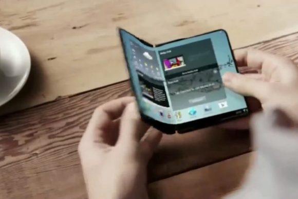 Opvouwbare Samsung-smartphone release