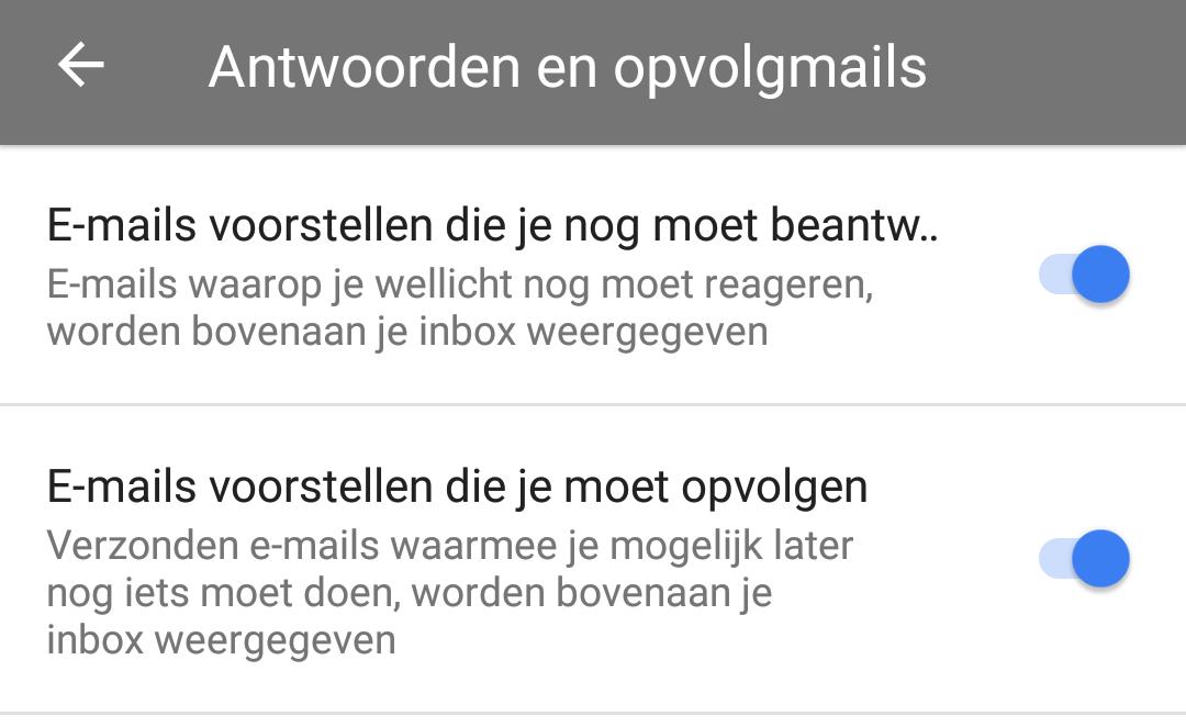 inbox opvolgmails