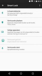 Android-gezichtsherkenning activeren