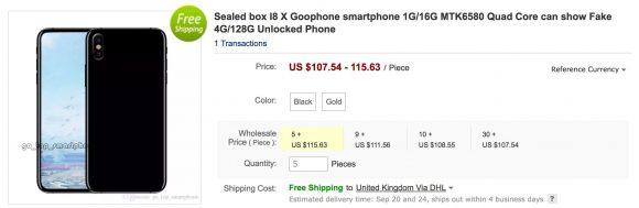 Goedkoop iPhone X-alternatief