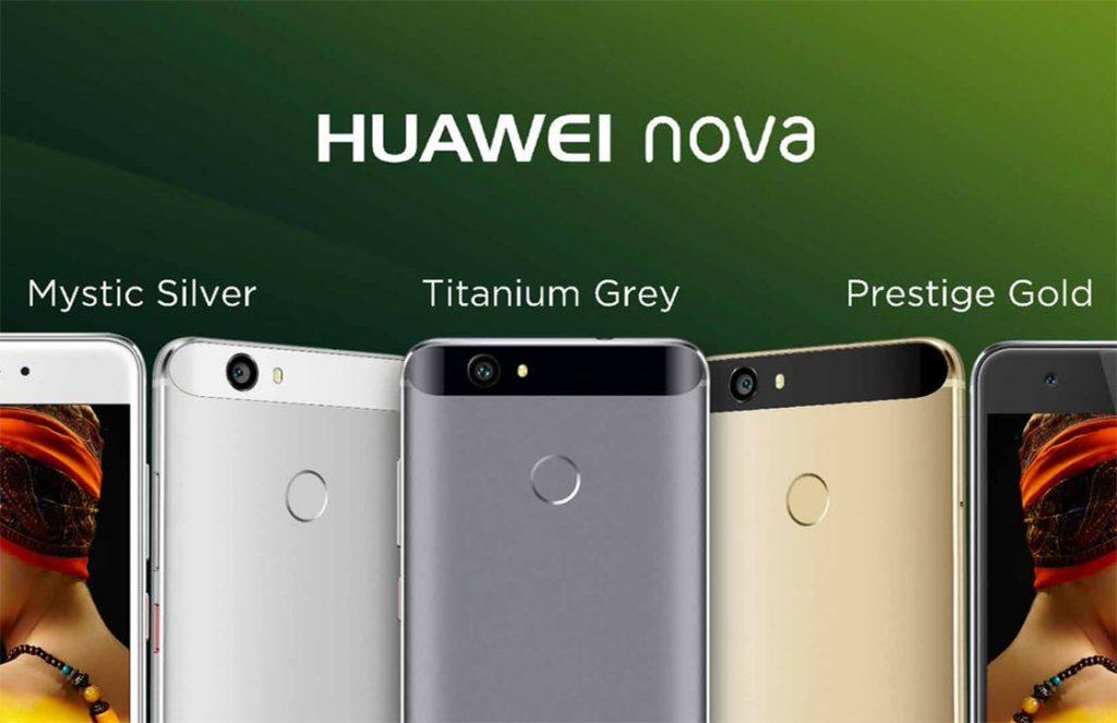 huawei nova officieel