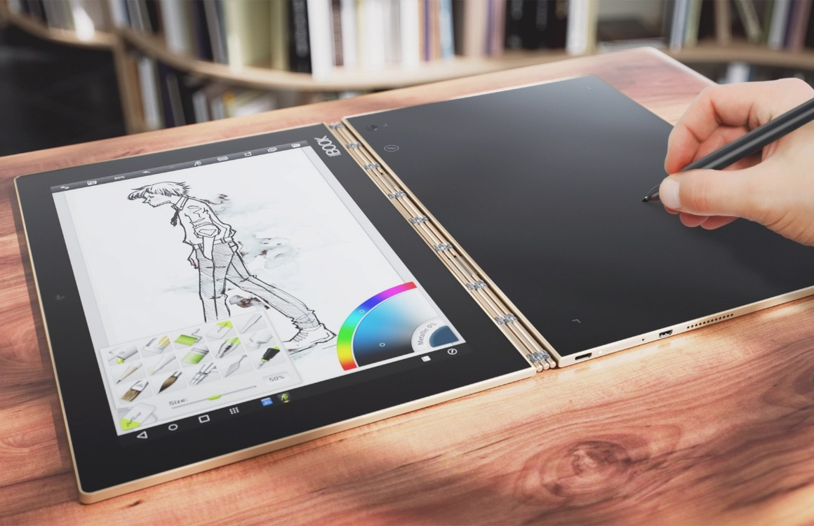Lenovo Yoga Book review: tablet, toetsenbord en tekenblok in één