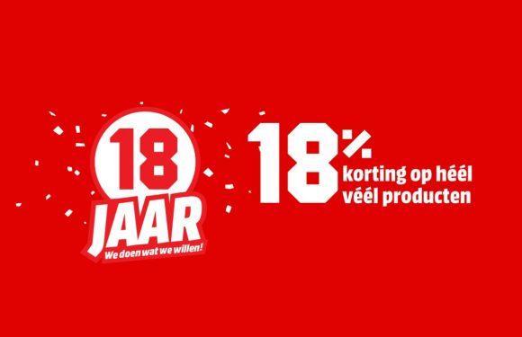 MediaMarkt viert feest: 18% korting op smartphones en meer! (ADV)