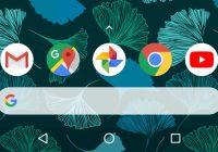 Met Action Launcher-zoekbalk lijkt je homescreen op een Pixel 2