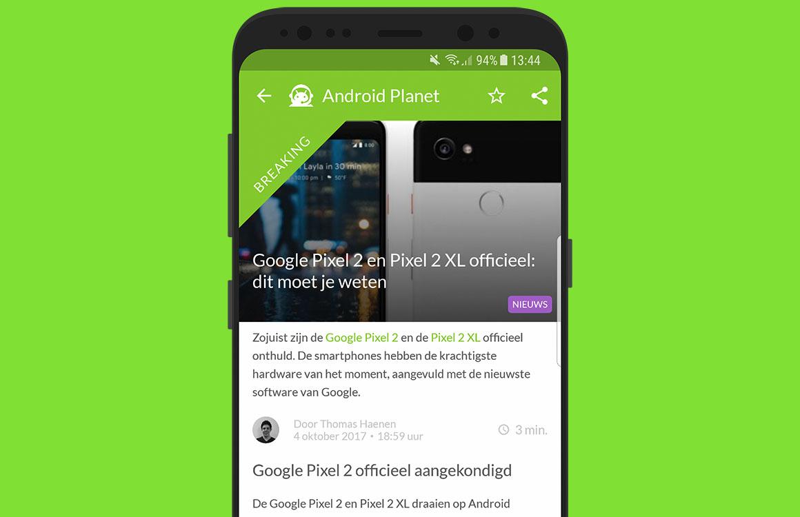 Android nieuws #40: alles over de Google Pixel 2 en Home Mini