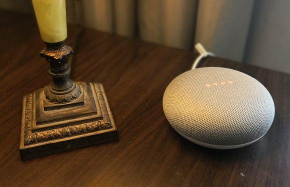google home mini-aanraakbesturing