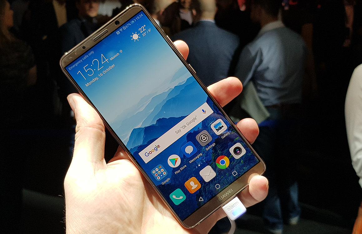 Preview: randloze Huawei Mate 10 Pro blijft niet onbevlekt