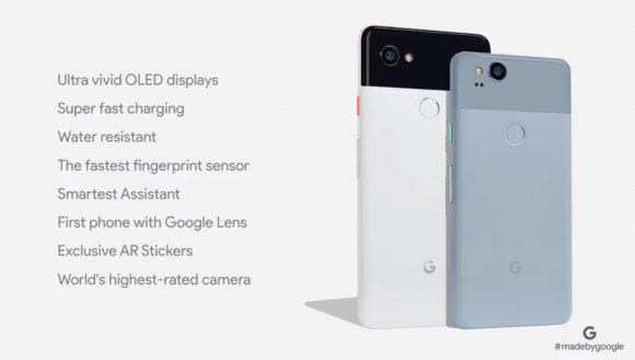 Google Pixel 2 officieel