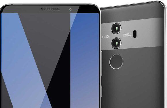 'Huawei Mate 10 Pro laat van zich zien op gelekte afbeelding'