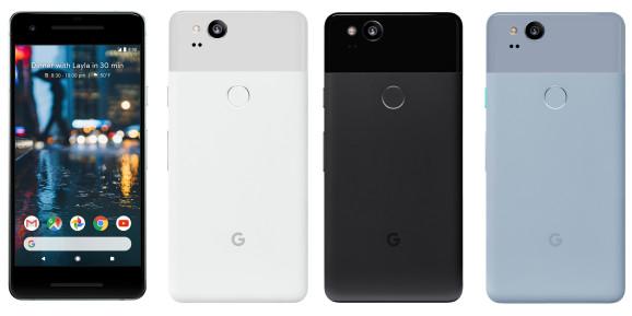 Google Pixel 2 foto's