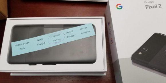 Google Pixel 2 problemen