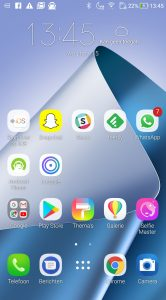 Asus Zenfone 4 screenshot ZenUI