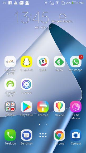 Asus Zenfone 4 screenshot ZenUI