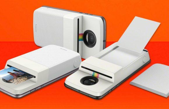 Deze nieuwe Moto Mod verandert je toestel in een Polaroid-camera