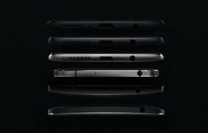 OnePlus 5T koptelefoonaansluiting