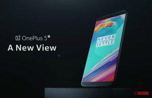 OnePlus 5T officieel