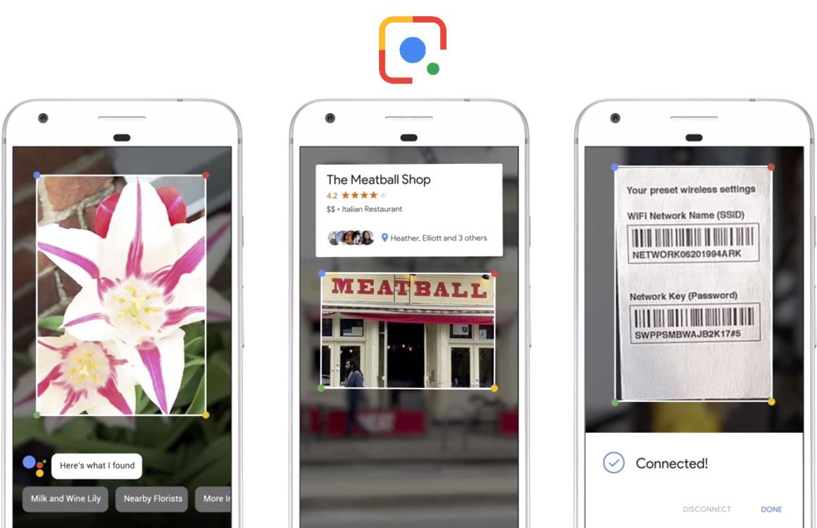 Google Lens nu beschikbaar voor alle Android-smartphones