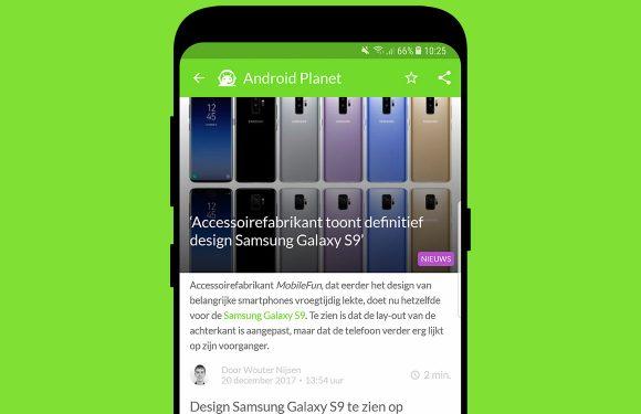 Android nieuws #51: Nokia 9 specs en Samsung Galaxy A8 (2018)