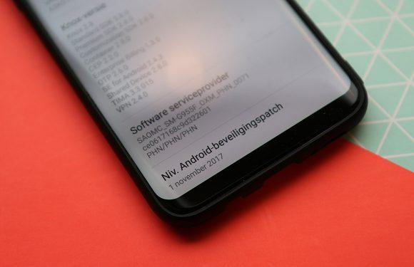 Deze Android-smartphones kregen deze week een (beveiligings)update