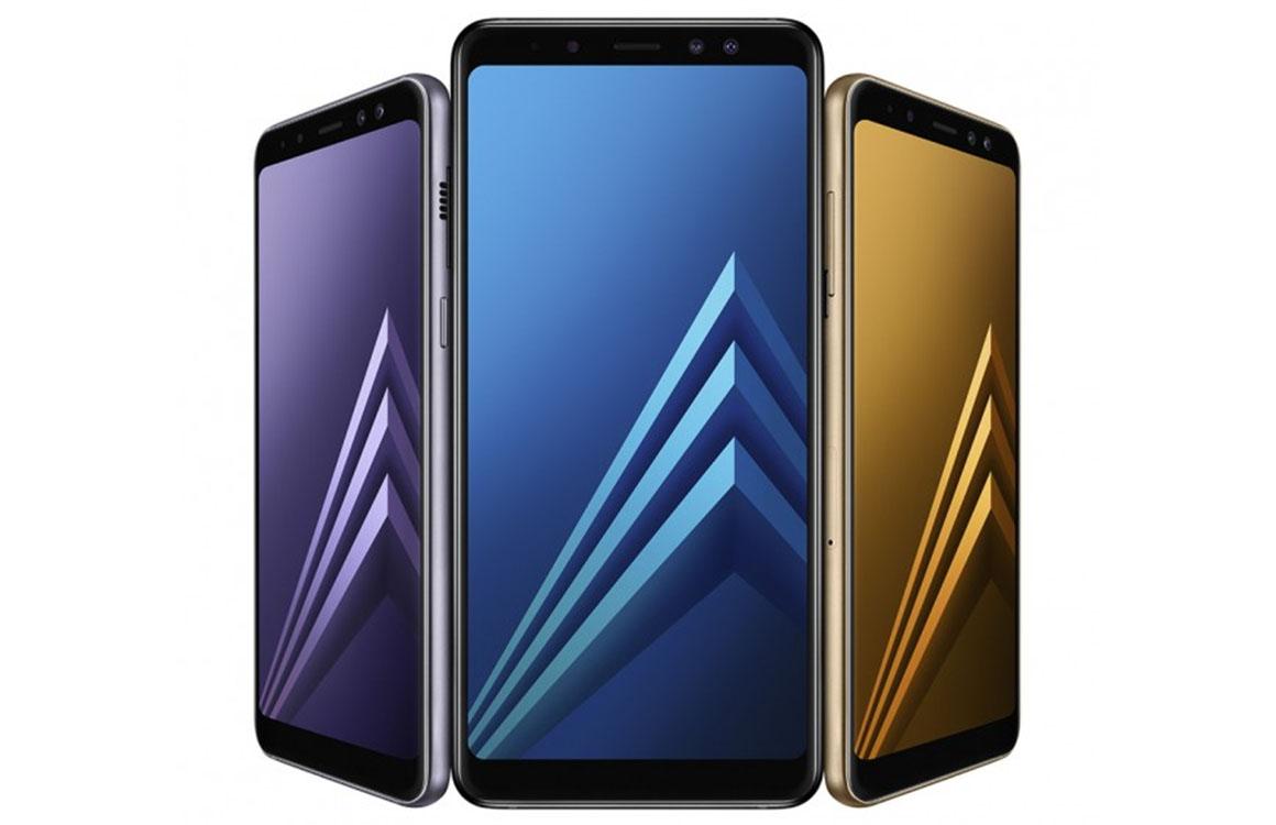 Samsung brengt randloze Galaxy A8 uit in Nederland voor 499 euro
