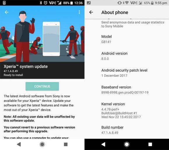 android-beveiligingsupdate sony