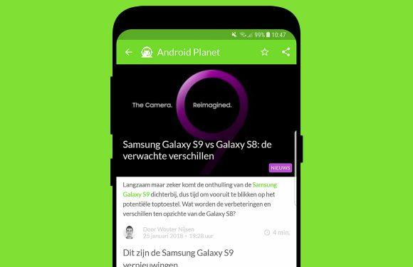 Android nieuws #4: Samsung Galaxy S9 en Nederlandse Assistant