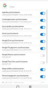 Android backup maken