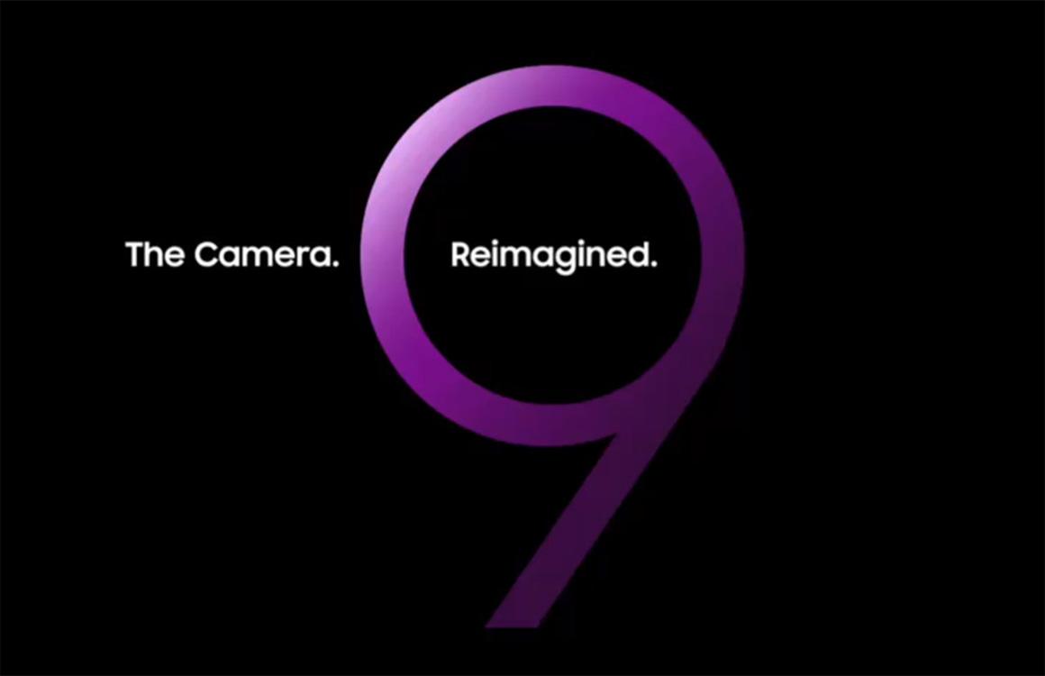 'Samsung onthult Galaxy S9 gedeeltelijk in augmented reality'