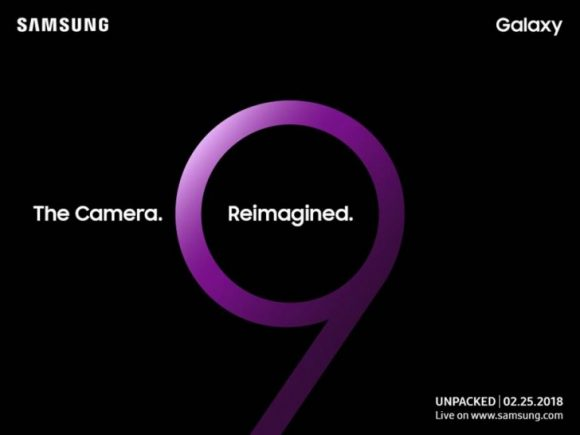 Samsung Galaxy S9 onthulling