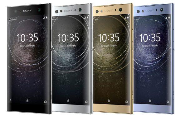 Sony presenteert Xperia XA2, XA2 Ultra en Xperia L2 met vernieuwd design