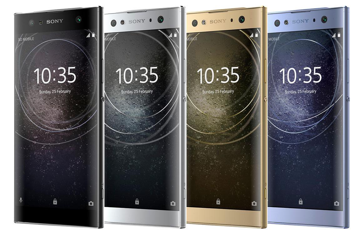 'Persrenders van midrange-smartphones Sony verschijnen online'