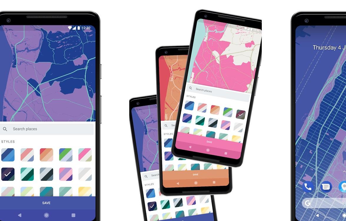 Mapapers verandert je omgeving in een achtergrond voor je Android