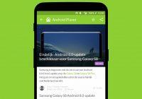 Android nieuws #6: Galaxy S8 krijgt Android Oreo en Huawei P20